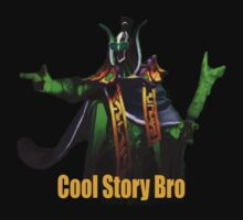 Rubick - Cool Story Bro (Yellow Text) by ohsnapitskelz