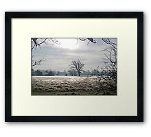 Frost In December Framed Print