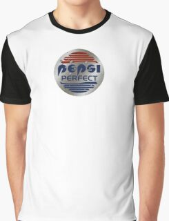 Pepsi Perfect (Back to the Future) Metallic colors Graphic T-Shirt