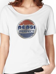 Pepsi Perfect (Back to the Future) Metallic colors Women's Relaxed Fit T-Shirt