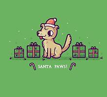 Santa Paws by Randyotter