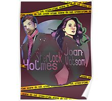 Joan and Sherlock Poster