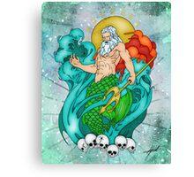 Poseidon Canvas Print
