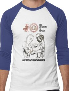 Godspeed You! No Hands Men's Baseball ¾ T-Shirt