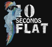 10 Seconds Flat Baby Tee