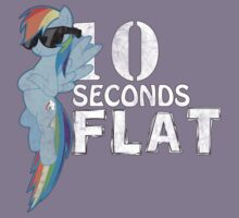 10 Seconds Flat Kids Tee