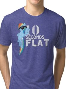 10 Seconds Flat Tri-blend T-Shirt