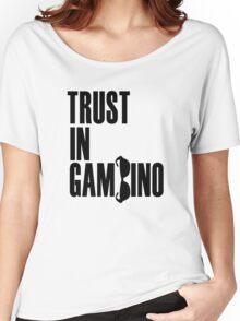 Trust In Gambino Women's Relaxed Fit T-Shirt