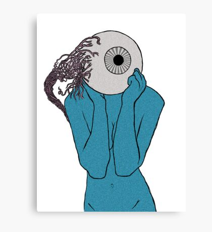 EyeBall Lady Canvas Print