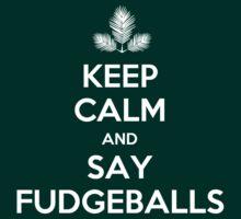 FudgeBalls (White Text) by Tom Clancy