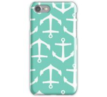 Turquoise Anchors - Iphone Case  iPhone Case/Skin