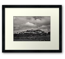 The Great Zimbabwe Hill Complex Framed Print
