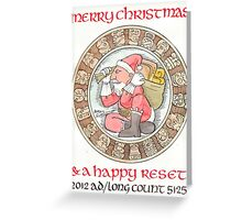 Happy Reset Greeting Card