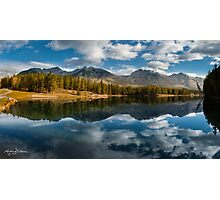 Johnson Lake Photographic Print