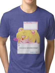 Sailor Moon - Crybaby Tri-blend T-Shirt