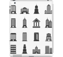 Building office an icon iPad Case/Skin