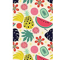 Tropicana Fruits Photographic Print