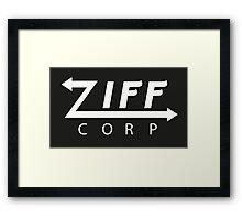 Ziff Corp Framed Print