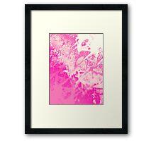 Fuchsia Genesis Framed Print
