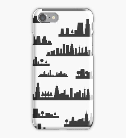 City a background iPhone Case/Skin