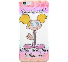dee dee iPhone Case/Skin