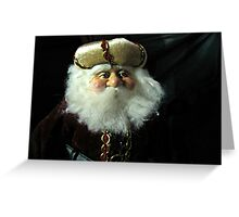 A Russian Saint Nicholas Doll Greeting Card