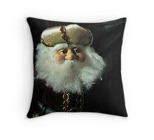 A Russian Saint Nicholas Doll Throw Pillow