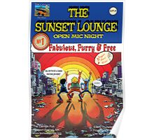 Into the Sun - The Sunset Lounge Poster