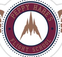 Peppy's Flight School Sticker