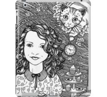 Waiting For The Hatter  iPad Case/Skin