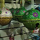 Glitter Jingle Bells For Your Tree by Jane Neill-Hancock