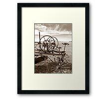 Plains of the Past Framed Print