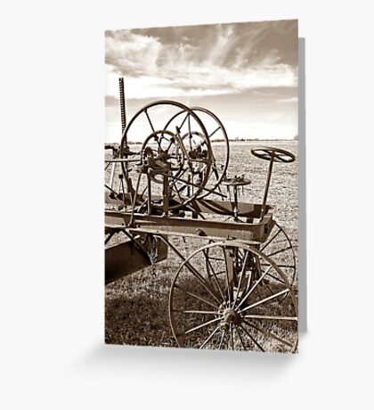 Plains of the Past Greeting Card