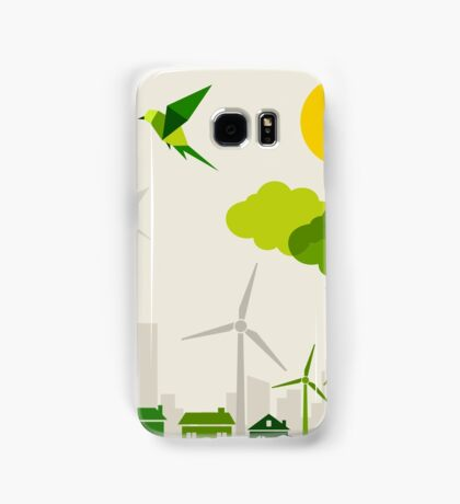 Ecology a city Samsung Galaxy Case/Skin