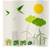 Ecology a city Poster