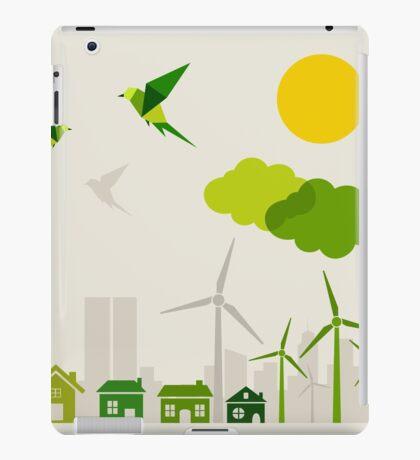 Ecology a city iPad Case/Skin