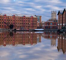 The Docks at Gloucester by Jeff  Wilson