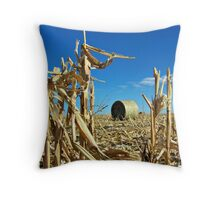 Remains of the Harvest Throw Pillow