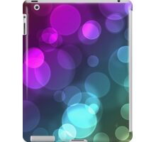 Colorful bubbles iPad Case/Skin