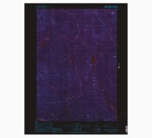 USGS TOPO Map New Hampshire NH Dummer Ponds 329542 1988 24000 Inverted One Piece - Short Sleeve