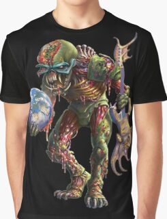 IRON MAIDEN FINAL FRONTIER LOGO Graphic T-Shirt