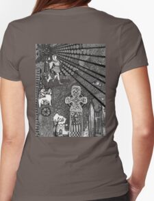 Fool On A Hill Pen & Ink Drawing T-Shirt