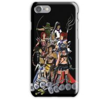 Nine RuneScape Characters iPhone Case/Skin