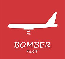 Red Bomber Pilot by rustyredbubble