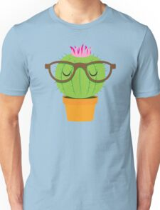 Nerdy little cactus Unisex T-Shirt