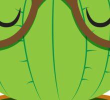 Nerdy little cactus Sticker
