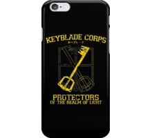 Keyblade Corps iPhone Case/Skin
