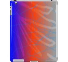 Fractured Web - Vertical  iPad Case/Skin