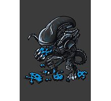 ALIEN EATS ALIEN Photographic Print