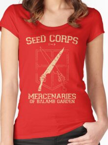 SeeD Corps Women's Fitted Scoop T-Shirt